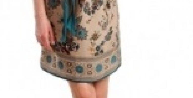 Baharlık Bayan Kuşaklı Elbise Modelleri