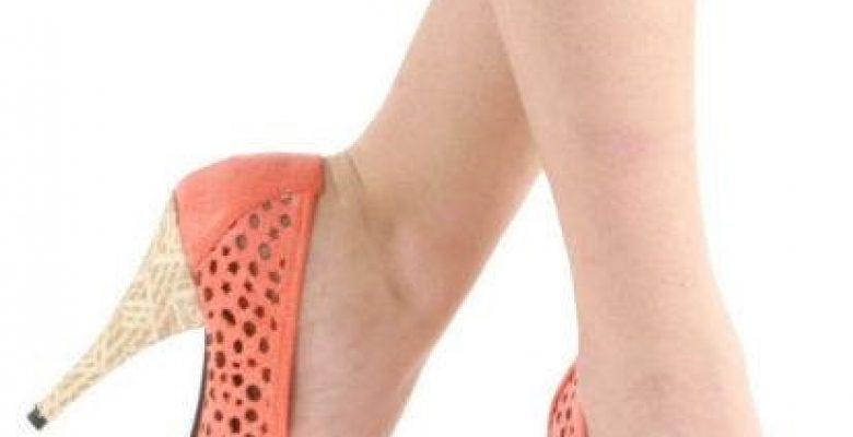 Bayan Hasır Topuklu Ayakkabı Modelleri