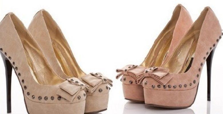 Bayan Kurdeleli Fiyonklu Ayakkabı Modelleri