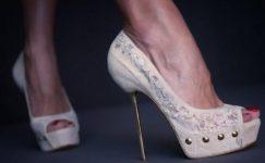 Yazlık Bayan Dantelli Ayakkabı Modelleri