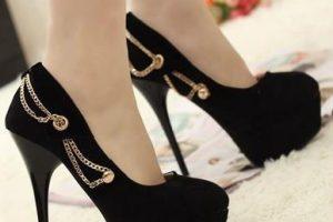 Bayan Gizli Platform Topuklu Ayakkabı Modelleri