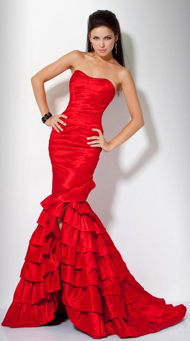 Bayan Balık Elbise Modelleri