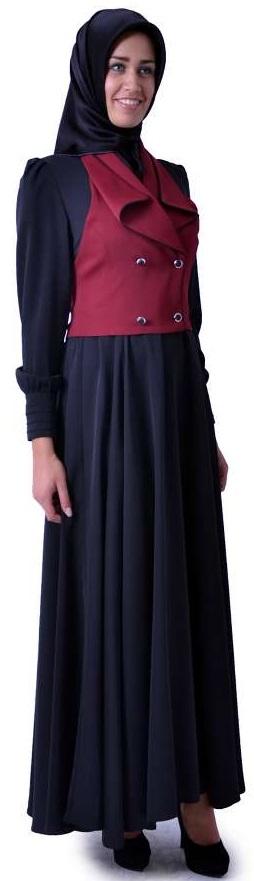 Baharlık Bayan Tesettür Elbise Modelleri